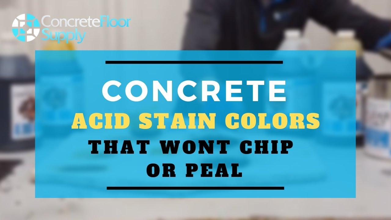 Black Acid Stain For Concrete