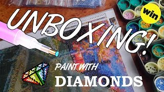 WOW! 5D XL Diamond Painting Unboxing (Plus How To)