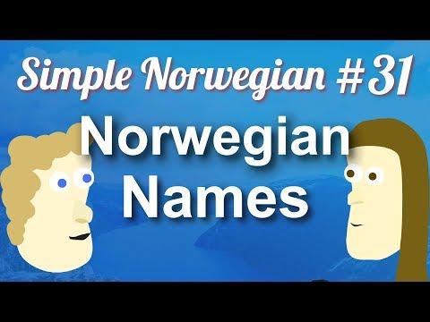 Simple Norwegian #31 - Norwegian Names