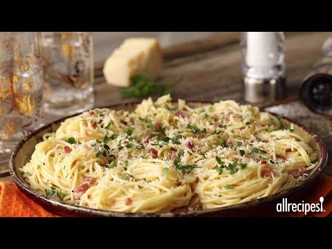 How to Make Spaghetti alla Carbonara | Pasta Recipes | Allrecipes.com