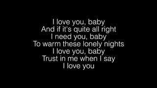 Download lagu Surf Mesa- ILY (I Love You Baby) Ft. Emilee Lyrics