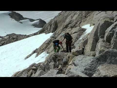 Canada's Fridolin Peak East Ridge
