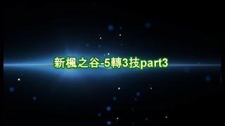 新楓之谷 5轉3技part 3 (精靈,破風,狂豹,幻影,傑諾)
