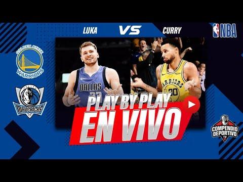 #NBA en VIVO | Golden State Warriors vs Dallas Mavericks | Live Stream | Curry Luka en directo