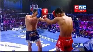 សុខ ធី Vs ធ្នូសឹកឡេក, Sok Thy, Cambodia Vs Thanusoeklek, Thai, Khmer Boxing 28 october 2018