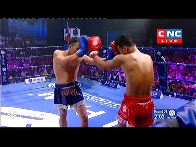 ??? ?? Vs ??????????, Sok Thy, Cambodia Vs Thanusoeklek, Thai, Khmer Boxing 28 october 2018