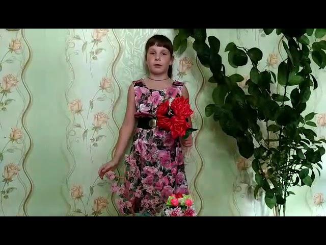 Изображение предпросмотра прочтения – ПолинаВласова читает произведение «Лето красное, росы студёные» Л.А.Мея