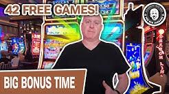 😸 42 FREE GAMES in Las Vegas! 🎰 SUPER Fun Slot Machine ACTION