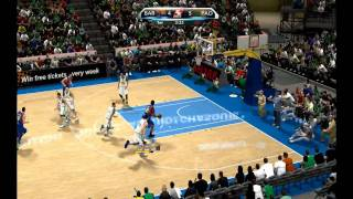 Euroleague 2K10 - PC Gameplay