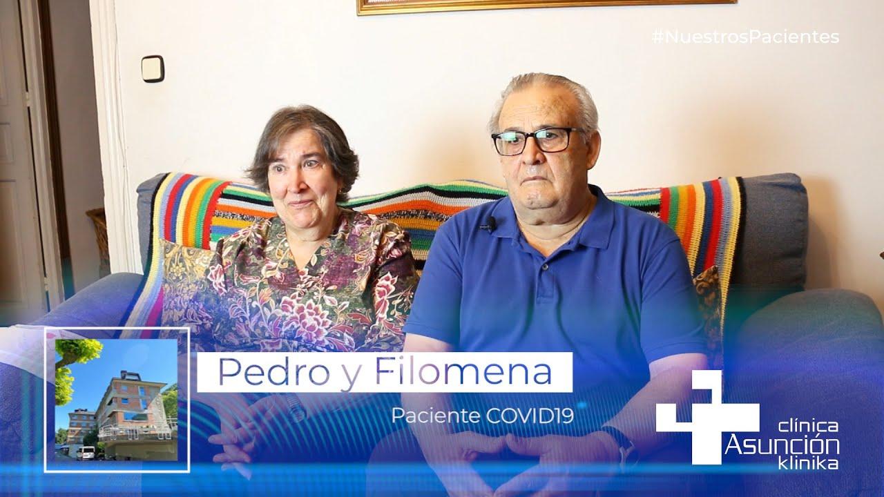 """Filomena y Pedro: """"Los de Tolosa tenemos una gran suerte de tener esta clínica"""""""