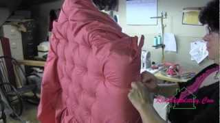 Upholstery How To Tuft A  Headboard