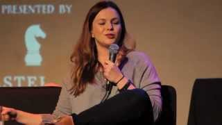 Amber Tamblyn gets ambushed with her wedding photos — Running Late with Scott Rogowsky