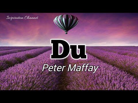 Peter Maffay ( DU ) With Lyric.