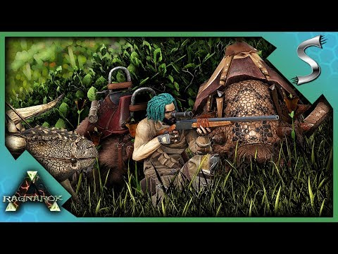 HUNTING DOWN UTILITY DINOS TO TAME! - Ark: Survival Evolved [Cluster E7]