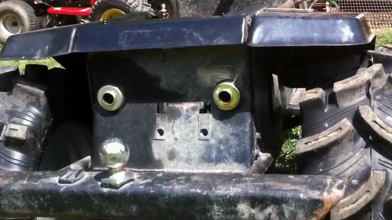 Lawn Tractor Exhaust : Off road lawn mower custom exhaust youtube