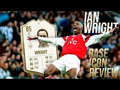 FIFA 20 Wright Review | 85 BASE ICON Ian Wright Player Review | Fifa 20 Ultimate Team