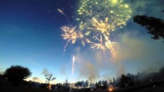 Firework in Latvia by Svētku aģentūra team. Designer-Nils Patriks Kazradzis