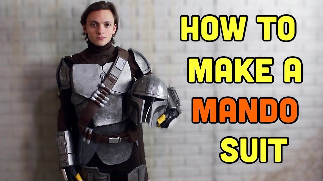 Make Your Own Mandalorian Gloves, Boots, & Undersuit!  Mando Cosplay ep 4