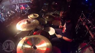 DEW SCENTED@Acts Of Rage-Live at Katowice-Poland 2013 (Drum Cam)