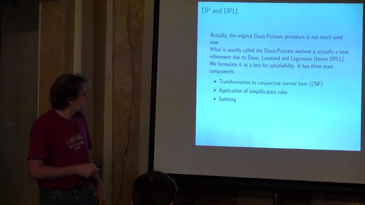 Lecture 1   A survey of automated theorem proving   John Harrison   Лекториум