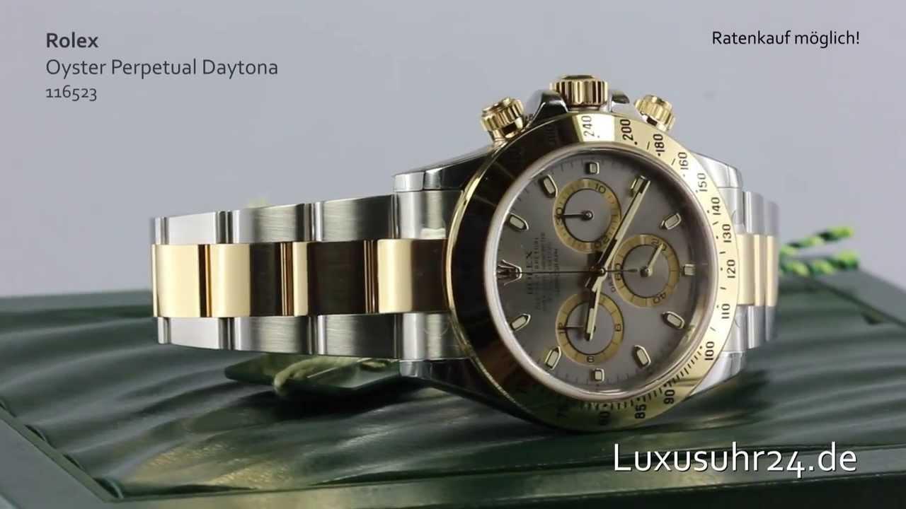 Rolex Oyster Perpetual Daytona 116523 Luxusuhr24 Ratenkauf ab 20 Euro/Monat