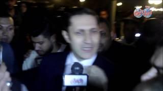 أخبار اليوم |ماذا قال علاء مبارك غى عزاء محمود عبد العزيز ؟