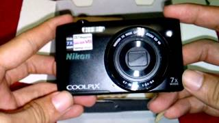 Unboxing And Review NIKON COOLPIX S3500 Indonesia