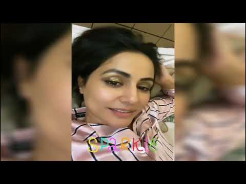 Hina khan Makeup Tips and Look || The State Tv