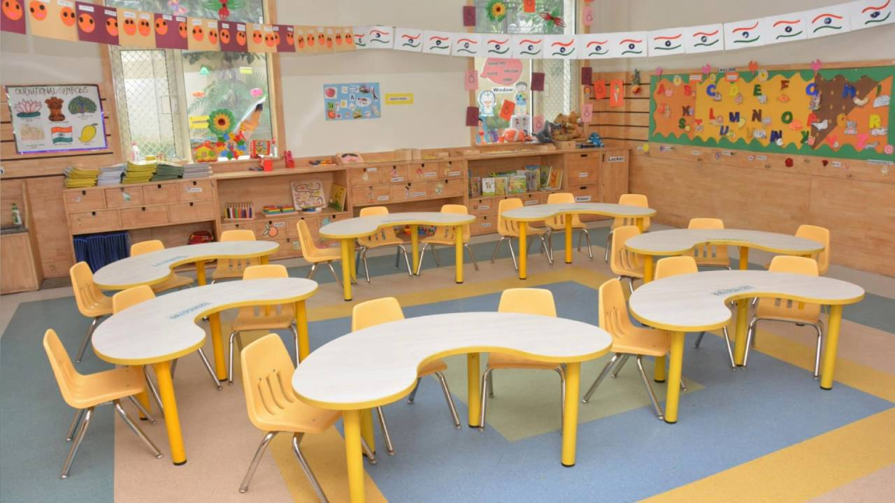 Modern Kindergarten Classroom Furniture ~ Theme based classroom furniture for kindergarten youtube