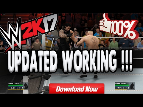 How to download and install wwe 2k17 on pc !! 100% working