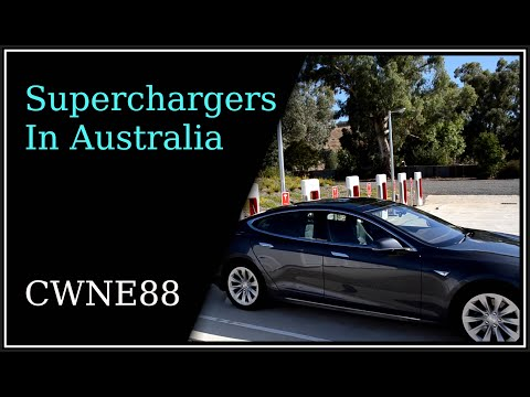 Tesla Superchargers in Australia - Brisbane to Melbourne (and Ballarat)