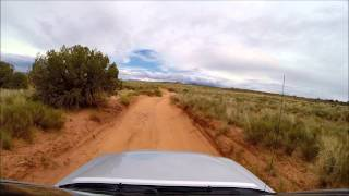 Xterra Pro-4X section of trail Arches National Park,  July 2015, Movie 2