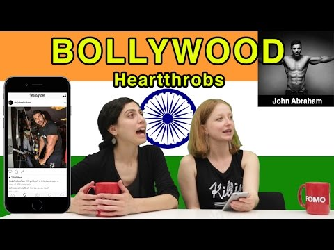 Americans React to Bollywood Male Heartthrobs