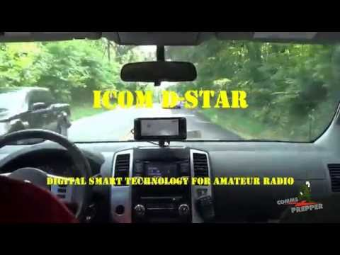 2m Coast to Coast QSO with Icom's D-STAR with K6UDA