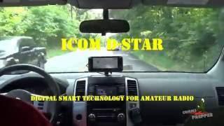 2m coast to coast qso with icom s d star with k6uda