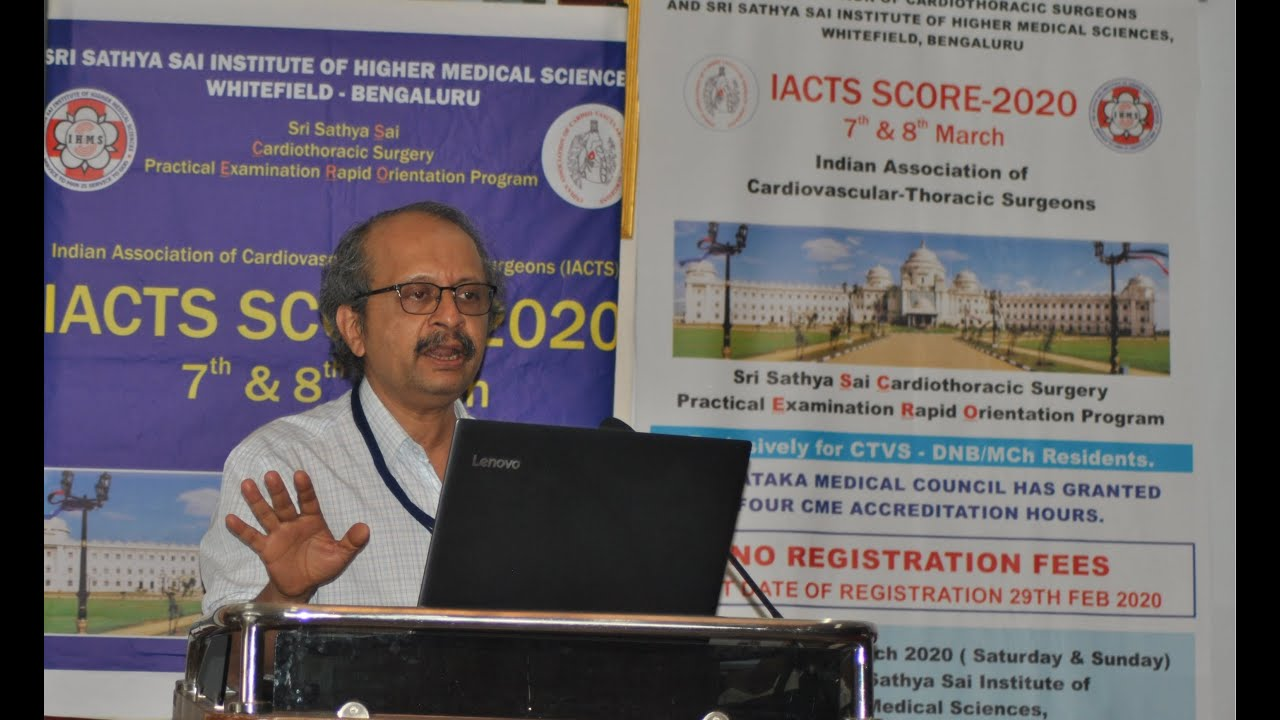 Important clinical trials of the day & Basics of Biostatistics: Dr. Prasanna Simha Mohan Rao