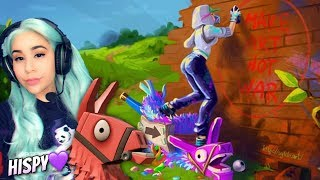 "NEW ""ABSTRACT"" SKIN & ""RENEGADE ROLLER"" GAMEPLAY! - Fortnite Battle Royale New Skin Update Live"