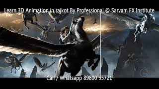 How do They do Animation in Thor? (Sarvam Fx animation Institute rajkot)