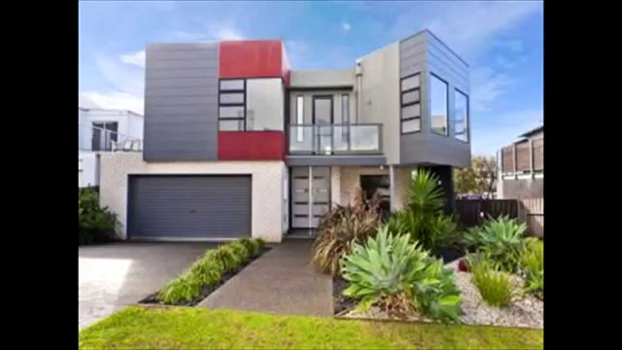 Exterior facade design youtube for Exterior house facade ideas