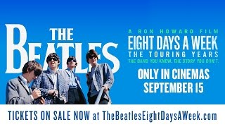 The Beatles: Eight Days A Week - The Touring Years. Official UK Clip