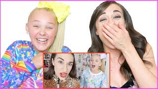 REACTING TO OLD VIDEOS OF MIRANDA & JOJO SIWA!