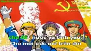 Karaoke: Đảng là cuộc sống của tôi ( Bản chuẩn)