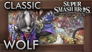 Super Smash Bros. Ultimate: Classic Mode - WOLF - 9.9 Intensity No Continues