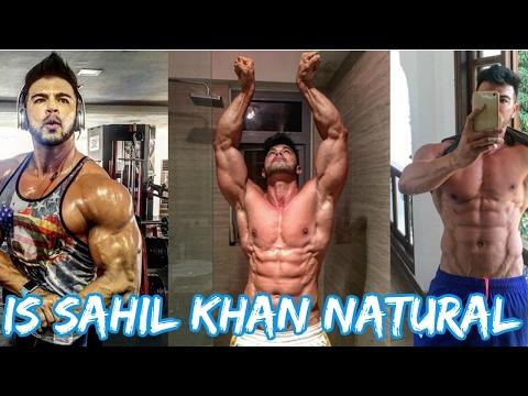 Is Sahil Khan Natural ??