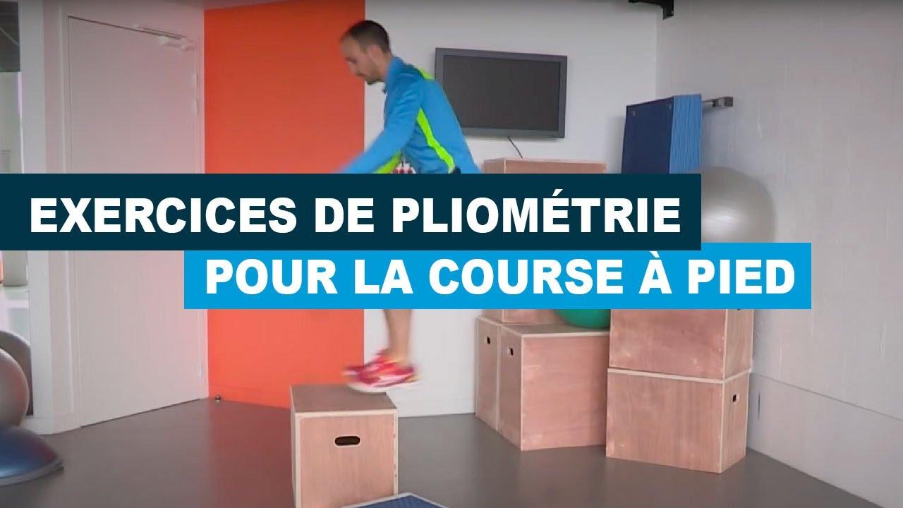 Exercices de pliométrie pour la course à pied - YouTube