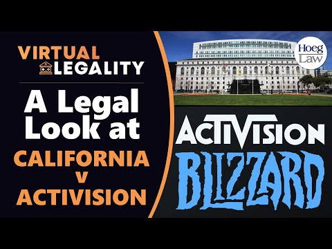 California vs Activision Blizzard: A Legal Look at the Lawsuit (VL513) - Видео онлайн