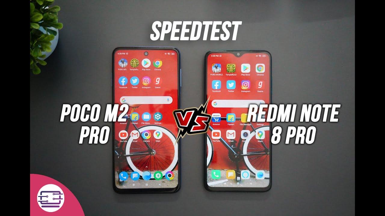 Poco M2 Pro vs Redmi Note 8 Pro Speedtest [SD720G vs Helio G90T]