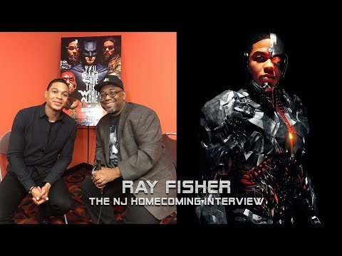 Ray Fisher - Cyborg in Justice League (Interview)