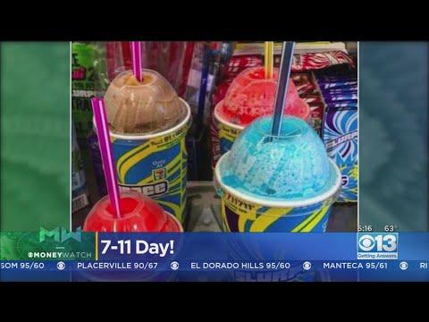 Debbie McFadden - Hooray For FREE Slurpees on 7-Eleven Day