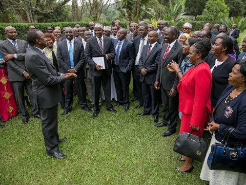 MARAGA UNDER SIEGE: Jubilee MPs file a petition against Chief Justice David Maraga